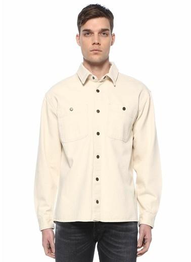 American Vintage Gömlek Ekru